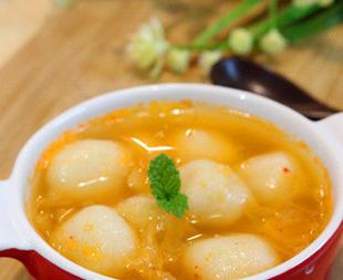 泡菜糯米丸子的家常做法