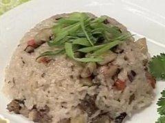 香炒糯米饭的做法视频
