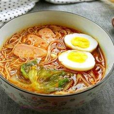 香辣酸汤面的做法