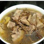 茶树菇炖老鸭