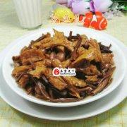 花生米茶树菇烤麸 的做法