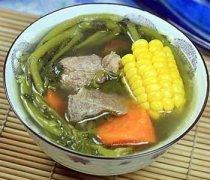 【西洋菜猪骨汤的功效】西洋菜猪骨汤的做法_西洋菜猪骨汤的食材选购