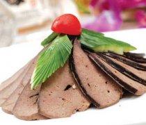 【猪肝的营养价值】猪肝的功效与作用