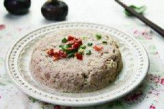荸荠蒸肉饼的家常做法