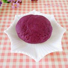 无水紫薯面团的做法