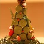 抹茶马卡龙圣诞树