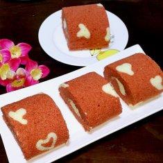 红丝绒蛋糕卷的做法