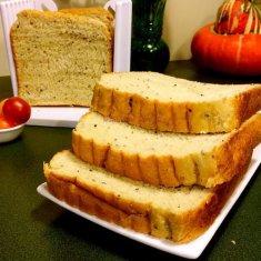 奇亚籽素面包(面包机版)的做法