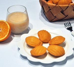 橙香玛德琳的家常做法