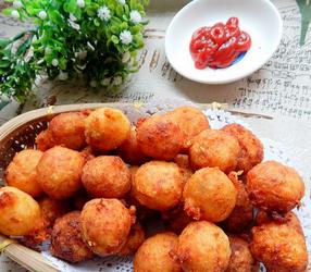炸土豆丸子的家常做法