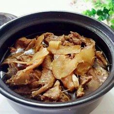 砂锅姜母鸭的做法