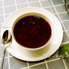 黑豆黑米粥的做法