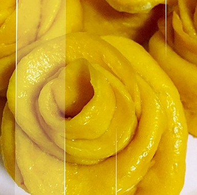 南瓜玫瑰花卷的做法