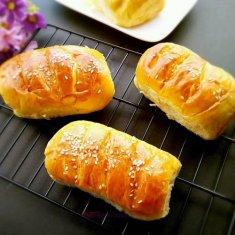 简单的面包的做法