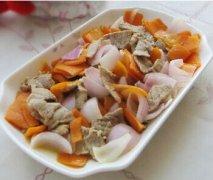 【洋葱炒胡萝卜】洋葱炒胡萝卜的做法_洋葱炒胡萝卜的营养_洋葱炒胡萝