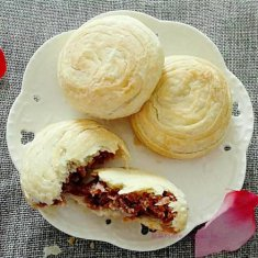玫瑰鲜花饼的做法