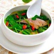 【猪肝菠菜汤的功效】猪肝菠菜汤的做法_什么人不宜喝猪肝菠菜汤