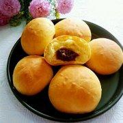 南瓜豆沙面包的做法
