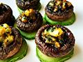 黑椒三鲜烤蘑菇的做法