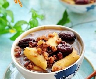 红豆薏米山药汤的家常做法