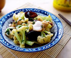 木耳菜花炒鱼片的家常做法