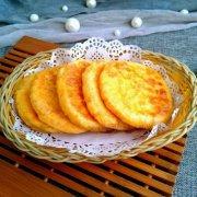南瓜发面糖饼的做法
