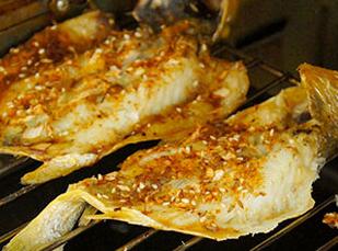 烤黄花鱼的家常做法