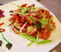 【姜葱炒青蟹】姜葱炒青蟹的营养_姜葱炒青蟹的做法
