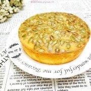 南瓜子酸奶蛋糕(6寸)的做法