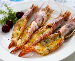 芝士焗大虾的家常做法