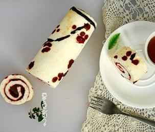 梅花酸奶蛋白卷的家常做法