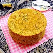 抹茶戚风蛋糕~八寸的做法