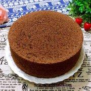 八寸可可戚风蛋糕的做法