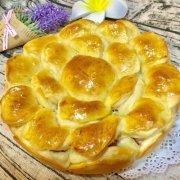 培根芝士花朵面包的做法