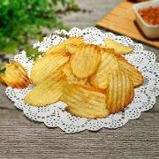 油炸土豆片的做法